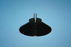 SAUGNÄPFE HAFTSAUGER mit Querloch Bohrung transparent 10 x SAUGNAPF Ø 40 mm