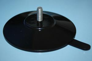 saugn pfe 75 mm schwarz mit l selasche gewinde m6 x. Black Bedroom Furniture Sets. Home Design Ideas
