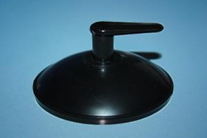 saughaken 60 mm mit kappe und haken schwarz paul. Black Bedroom Furniture Sets. Home Design Ideas